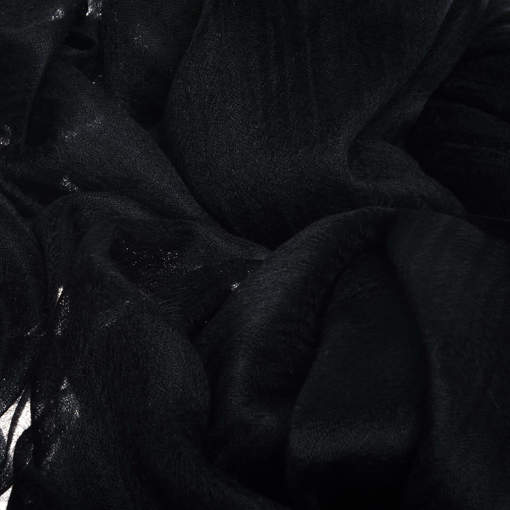 Шаль CASHMERE DIAMOND черная