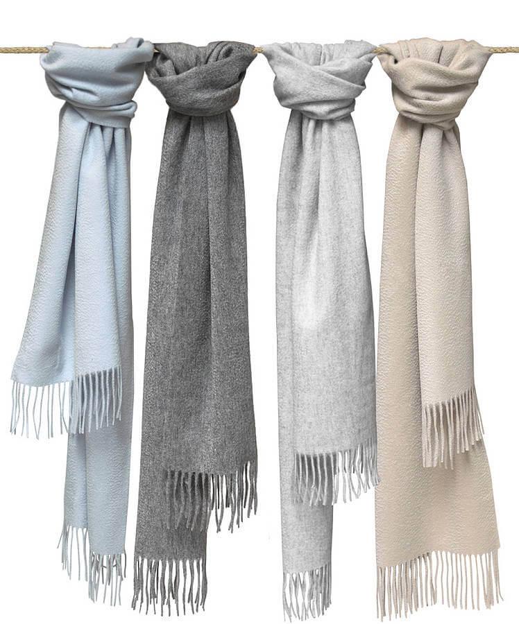 шарфы из кашемира