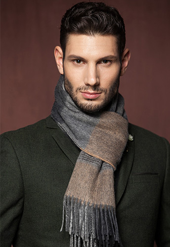 шарфы мужские кашемировые