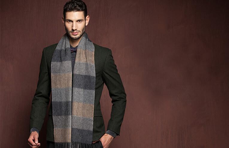 шарфы кашемировые для мужчин