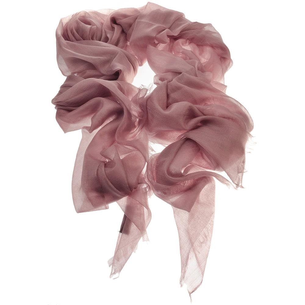 Шаль CASHMERE DIAMOND пыльная роза