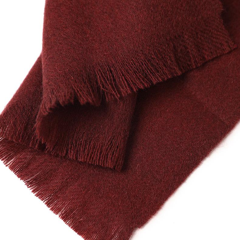 Шерстяной шарф COMFORT черешня
