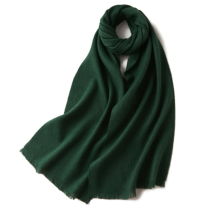 Шерстяной шарф COMFORT изумруд