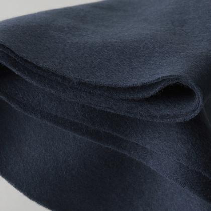 Шерстяной шарф COMFORT темно синий